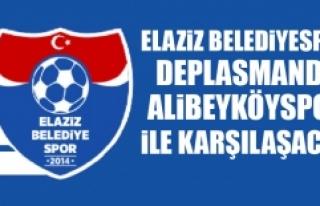 Elaziz Belediyespor Deplasmanda Alibeyköyspor İle...