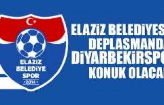 Elaziz Belediyespor Deplasmanda Diyarbekirspor'a...