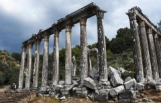 Euromos Antik Kenti'nde UNESCO için özel çalışma...