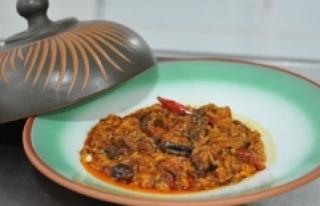 Gaziantep'in ekonomik ve lezzetli kış yemeği...