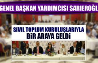Genel Başkan Yardımcısı Sarıeroğlu, Başkanları...
