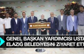 Genel Başkan Yardımcısı Usta, Elazığ Belediyesini...