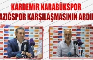 Kardemir Karabükspor TY Elazığspor Karşılaşmasının...