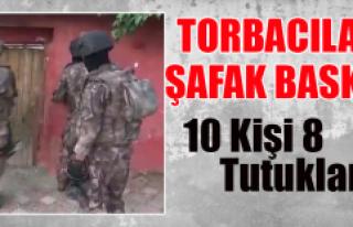 Malatya'da Torbacılara Şafak Baskını