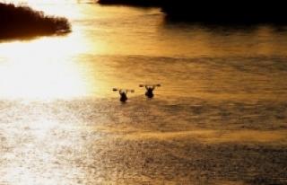 Meriç Nehri'nde gün batımı yolculuğu