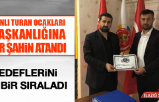 Osmanlı Turan Ocakları İl Başkanlığına Onur...