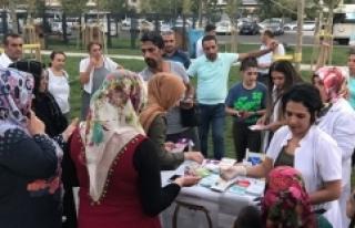 'Sağlıklı Yaşam Aracı' Diyarbakır'da...