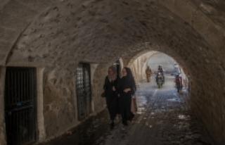 Şanlıurfa'nın tarihi sokakları turizme hizmet...