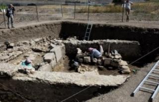 Satala Antik Kenti'nde kazı çalışmaları...