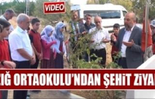 Şehit Polis Hüseyin Göral Mezarı Başında Ziyaret...