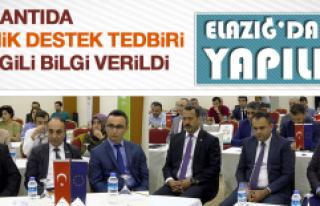 Sektörel Tanıtım Toplantısı Elazığ'da Yapıldı