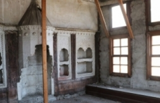 Trabzon'un tarihi Kundupoğlu Konağı restore...