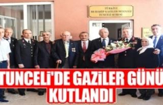 Tunceli'de Gaziler Günü Kutlandı