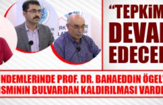 Türk Ocakları'ndan Prof. Dr. Bahaeddin Ögel Programı...