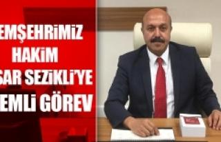 Yaşar Sezikli'ye Önemli Görev