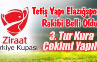 Ziraat Türkiye Kupası 3.Tur Kura Çekimi Yapıldı
