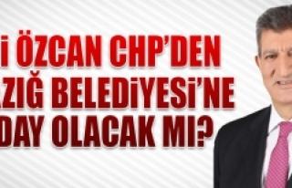 Ali Özcan CHP'den Elazığ Belediyesi'ne Aday...