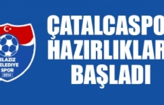 Belediyespor'da Çatalcaspor Hazırlıkları...