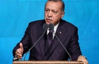 Cumhurbaşkanı Erdoğan'dan Danıştay'a...