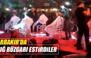 Elazığlı Kuaförler Diyarbakır'a Damga Vurdu