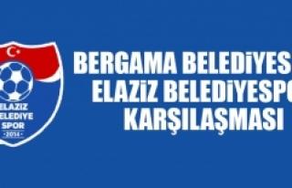 Elaziz Belediyespor Bergama Belediyespor'a Konuk...