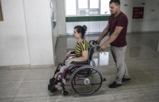 Engelli kadının tekerlekli sandalye hayali gerçek...