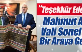İÜ Rektörü Ak, Vali Sonel'le bir Araya Geldi