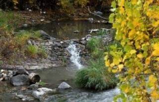 Kars'ta sonbaharın doğal güzellikleri fotoğraflandı