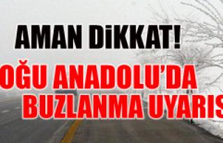 Meteoroloji Uyarıyor Aman Dikkat !