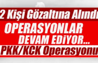 PKK/KCK operasyonu: 2 Gözaltı