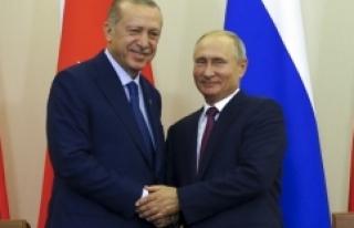 Putin'den Erdoğan'a Cumhuriyet Bayramı...