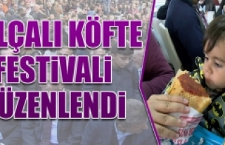 Salçalı Köfte Festivali Düzenlendi