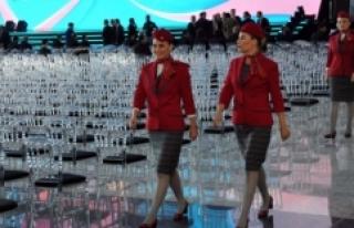 THY'nin yeni üniformaları görücüye çıktı