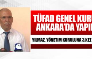 TÜFAD Genel Kurulu Ankara'da Yapıldı