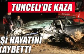 Tunceli'deki Kazada 2 Kişi Hayatını Kaybetti