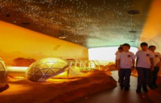 """""""Uzay Kampı Türkiye""""De Çocuklar Mars'ı..."""