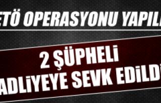 Yapılan FETÖ Operasyonunda Şüpheliler Adliyeye...