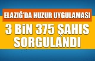 3 Bin 375 Şahıs Sorgulandı