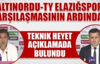 Altınordu - TY Elazığspor Karşılaşmasının...