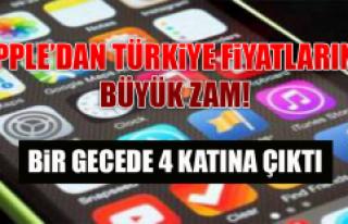 APPLE'DAN TÜRKİYE FİYATLARINA BÜYÜK ZAM! BİR...