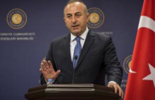 Bakan Çavuşoğlu, İran'a Yaptırım Uygulayan...
