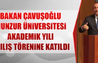 Bakan Çavuşoğlu Munzur Üniversitesi Akademik Yılı...