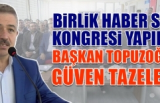 Başkan Topuzoğlu Güven Tazeledi