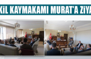 Baskil Kaymakamı Murat'a Ziyaret