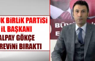 Büyük Birlik Partisi İl Başkanı Alpay Gökçe,...