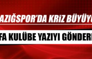 Elazığspor'da Kriz Büyüyor, FİFA Kulübe Yazıyı...