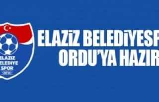 Elaziz Belediyespor Ordu'ya Hazır