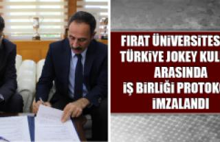 Fırat Üniversitesi İle Türkiye Jokey Kulübü...