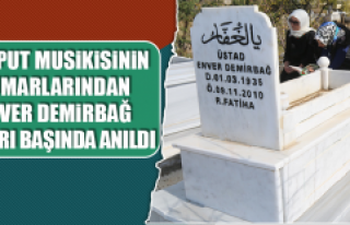 Harput Musikisinin Mimarlarından Enver Demirbağ...
