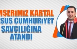 Hemşerimiz Kartal, Tarsus Cumhuriyet Savcılığına...